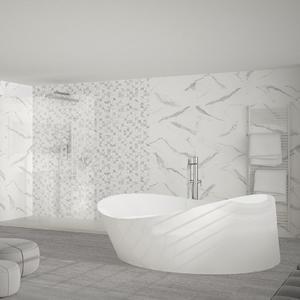 плочки за баня Tajmahal Statuario