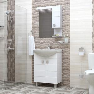 PVC комплект за баня Ирина
