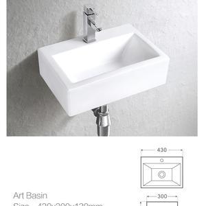 Мивка за баня върху плот или на стена 1431