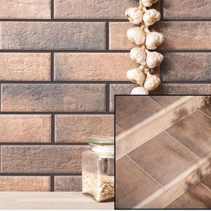 Колекция фасадни и стъпални плочки Loft Brick cardamon/Cottage cardamon