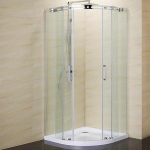 Овална асимитрична душ кабина Нова