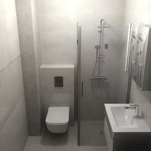 3d Проект за баня с плочки серия Версус