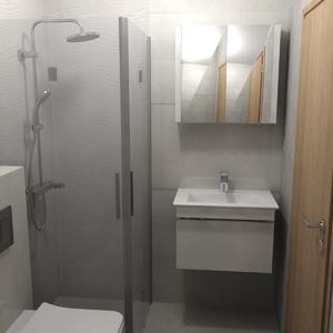 3д проект за баня с плочки Версус