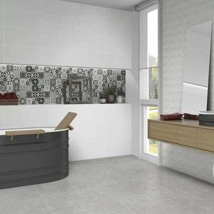 Плочки за баня White Luxe