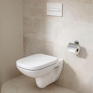 Стенна тоалетна чиния Debba Rimless, Square