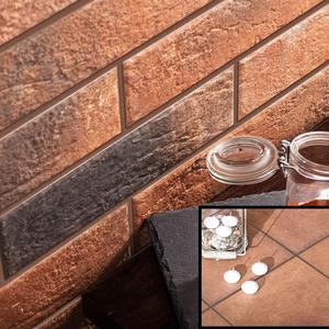 Колекция фасадни и стъпални плочки Loft Brick chilli/Cottage chilli