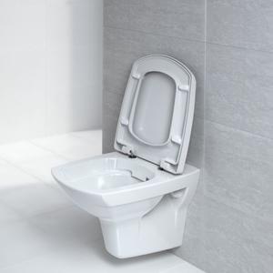 Висяща тоалетна чиния Carina с технология Clean On