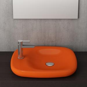 Мивка тип купа Bocchi Fenice 54 см - оранжев гланц