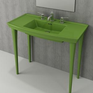 Мивка с плот Bocchi Lavita 100см - зелен гланц
