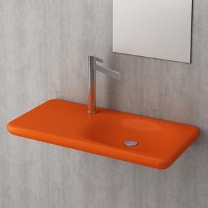 Мивка с плот Bocchi Fenice 90 см- оранжев гланц