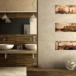 Плочки за баня Treviso Cream