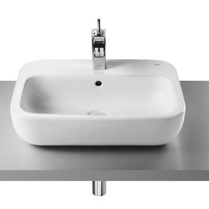Мивка за баня 55см - Roca Khroma върху плот