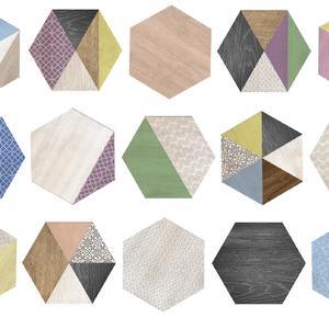 Плочки хексагон - Hexa ArtDeco