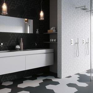 Плочки за баня Malmo Hexagons 23x27