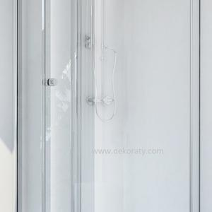 Душ кабина Смартфлекс Сгъваема врата+Стационарно стъкло