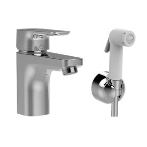 Смесител за умивалник GRANDE с хигиеничен душ CERAPLAN III  B0919