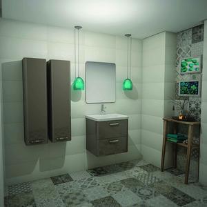 PVC Комплект за баня Vogue 60см.