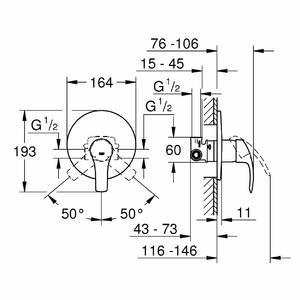 схема на смесител за вграждане грое