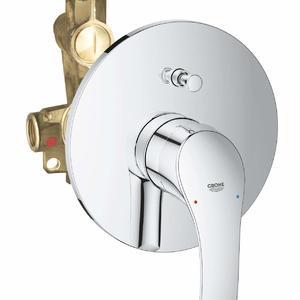 смесител за вграждане за вана/душ , Grohe , серия Eurosmart .