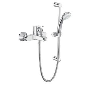Смесител стенен за вана/душ с аксесоари SevaNext B1931AA