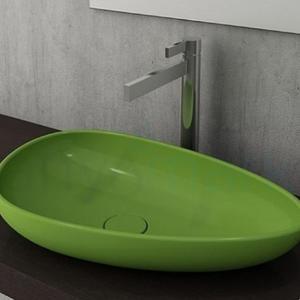 Мивка за монтаж върху плот Bocchi Etna 58 см, цвят- зелен гланц