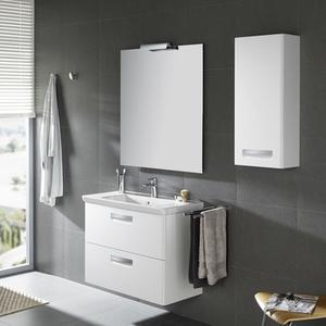 Комплект мебели за баня Gap в бяло - 100см.