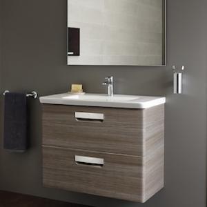 Комплект мебели за баня Gap в цвят тека - 100см.