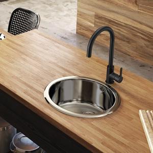 Смесител за кухня Mencia A5A7409CN0 , черен