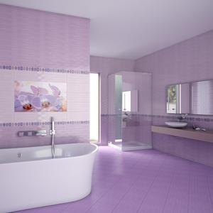 Плочки за баня Виола лила