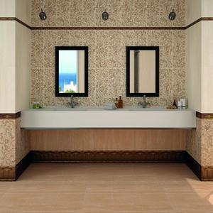 Плочки за баня Хабитат крема и мока
