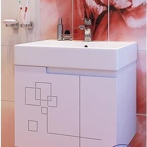 PVC шкаф за баня Грация 60см.