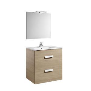 Комплект мебели за баня Debba в цвят дъб - 70 см.