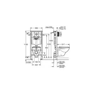 Размери-Промо коплект за вграждане Solido 4 в 1   39 192 000