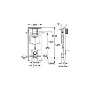 Размери- Промо комплект за вграждане Solido  4  в 1 - 39 186 000
