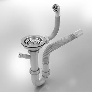 Кухненска мивка Фат 231 Граниксит- сифон