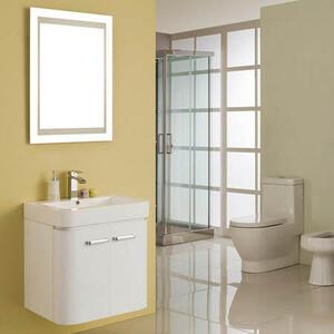 Комплект за баня Практик 60см. с огледало и осветление