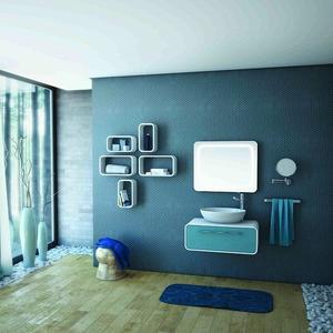 PVC Комплект за баня Oval 80см. с чекмедже