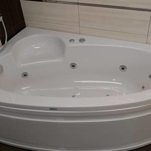 Хидромасажна вана Оникс 150/100см Комбо Флат 10