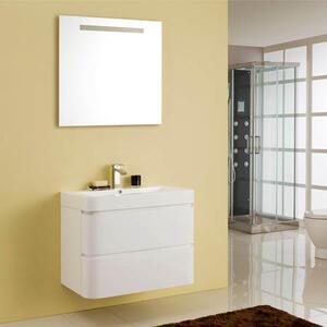 Комплект за баня Фрийдъм 80см. с огледало и LED осветление