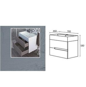 PVC долен шкаф за баня Гала 70 см.