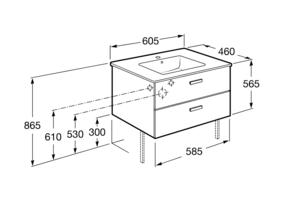 схема дплен шкаф Victoria Basic