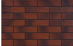 фасадна рустикална плочка с оттенък Rot