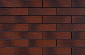 фасадна устикална плочка с оттенък Burgund