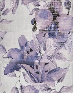 Виола  декор Флауърс лила 2462