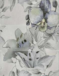 Виола   Флауърс тюркоаз декор  2464