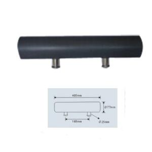 Черна възглавничка на стойка за вана 40.5/7.7 см.