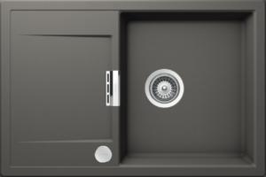 Кухненска мивка Schock Mono D-100 Silverstone