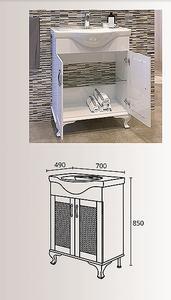 олен шкаф за баня Виктория