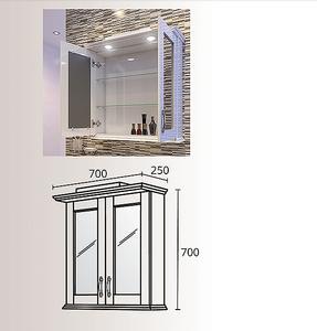 Горен шкаф за баня Виктория