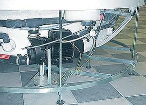 метална опора за  вана Kos
